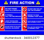fire action  fire action... | Shutterstock .eps vector #360012377