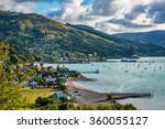 Small photo of Akaroa, New Zealand