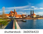 cathedral island in the morning ... | Shutterstock . vector #360056423