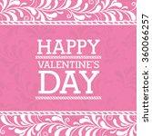 happy valentines day design  | Shutterstock .eps vector #360066257