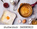 Preparing Fresh Pancakes.   To...