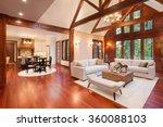 beautiful and  huge living room ... | Shutterstock . vector #360088103