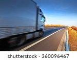 truck on the road | Shutterstock . vector #360096467