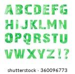 alphabet  a  b  c  d  e  f  g ... | Shutterstock .eps vector #360096773