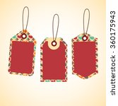 price tag design set. price... | Shutterstock .eps vector #360175943