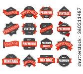 label vintage. | Shutterstock .eps vector #360211487