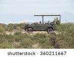 Safari Vehicle In The Karoo...