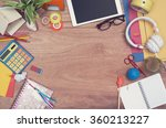 creative teenage hero header   Shutterstock . vector #360213227