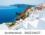 Постер, плакат: Panoramic view of Oia