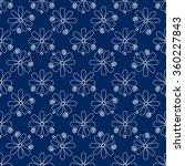 floral seamless pattern. white... | Shutterstock .eps vector #360227843