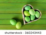 Painted Easter Eggs  Heart...