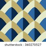 simple seamless geometric... | Shutterstock .eps vector #360270527