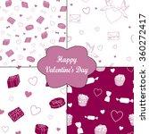 valentine's day  4 vector... | Shutterstock .eps vector #360272417
