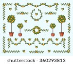 Big Vector Set Of Isolated...