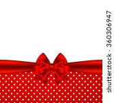 holiday background with red... | Shutterstock .eps vector #360306947