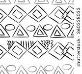 seamless pattern  doodles... | Shutterstock . vector #360338033