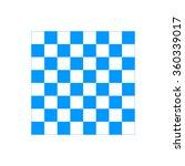 wooden chess board. flat view... | Shutterstock .eps vector #360339017