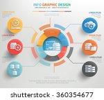 database and network info... | Shutterstock .eps vector #360354677