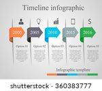 infographics arrow timeline... | Shutterstock .eps vector #360383777