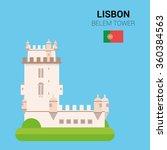 monuments and landmarks vector... | Shutterstock .eps vector #360384563