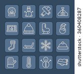 frost icons | Shutterstock .eps vector #360408287