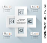 abstract 3d digital... | Shutterstock .eps vector #360442253