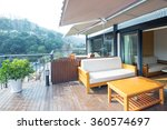decoration and furniture in... | Shutterstock . vector #360574697