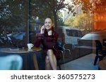 view through the window of a... | Shutterstock . vector #360575273