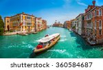 Famous Canal Grande With...