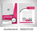 abstract vector modern flyers... | Shutterstock .eps vector #360619133