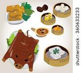 food element on background....   Shutterstock .eps vector #360633233