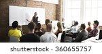 business team training... | Shutterstock . vector #360655757