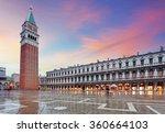san marco square  venice italy. | Shutterstock . vector #360664103