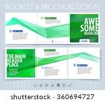 business brochure  flyer and... | Shutterstock .eps vector #360694727