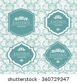vector vintage collection ... | Shutterstock .eps vector #360729347