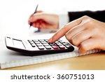 financial data analyzing   Shutterstock . vector #360751013