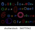 collection of a number of... | Shutterstock . vector #36075562