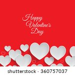 valentine's day background | Shutterstock . vector #360757037