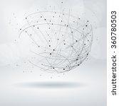 abstract design element.... | Shutterstock .eps vector #360780503
