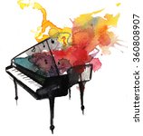 Watercolor Piano Music