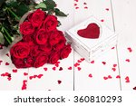 romantic still life with... | Shutterstock . vector #360810293