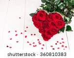 romantic still life with... | Shutterstock . vector #360810383