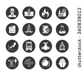 oil and gas icons | Shutterstock .eps vector #360838013