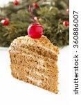 honey cake.   Shutterstock . vector #360886007