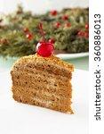 honey cake.   Shutterstock . vector #360886013