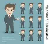 businessman cartoon character... | Shutterstock .eps vector #360892463
