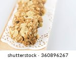 cookie on white background | Shutterstock . vector #360896267