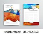 brochure design template ... | Shutterstock .eps vector #360966863