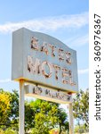 Small photo of LOS ANGELES, USA - SEP 27, 2015: Bates Motel at the Universal Studios Hollywood Park. Psycho is a 1960 American horror-slasher film by Alfred Hitchcock starring Anthony Perkins