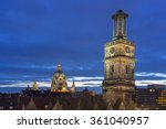 Stock photo hannover germany december hannover germany december evening view of 361040957